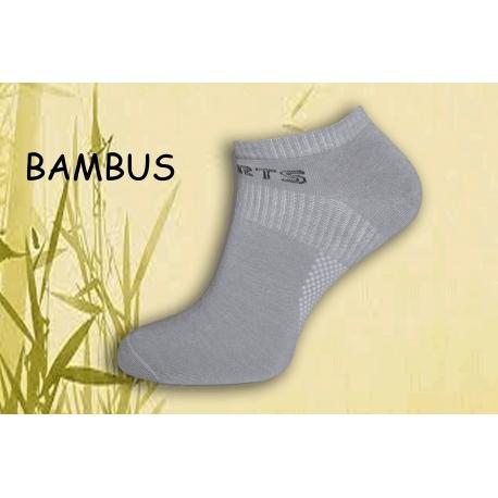 Bambusové pánske športové ponožky - bl.sivé