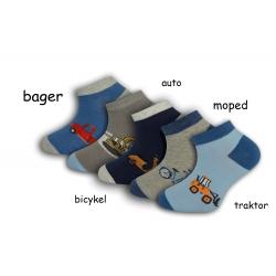 Chlapčenské bavlnené ponožky - 5-párov