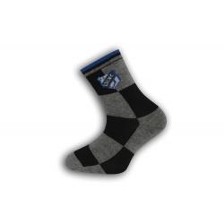 Chlapčenské ponožky so vzorom lopty
