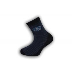 Modré chlapčenské ponožky