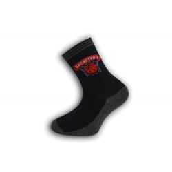 Chlapčenské ponožky s basketbalovou loptou