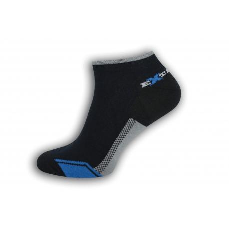 Športové krátke pánske ponožky - modré