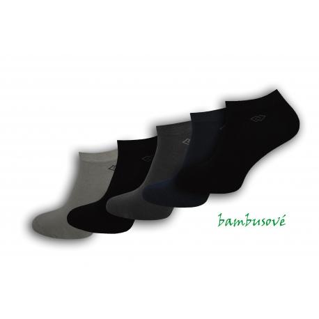 5-párov bambusových krátkych ponožiek
