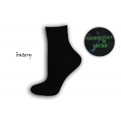 Čierne dámske ponožky - BATERY