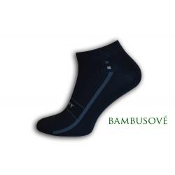IBA 39-42! Perforované športové bambusové ponožky