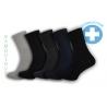 Obľúbené bambusové zdravotné ponožky. 5-párov