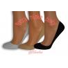 95%-né bavlnené neviditeľné ponožky. 3-páry
