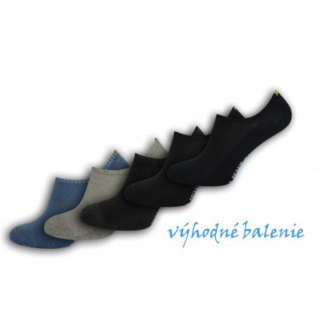 5-párov pánskych nízkych ponožiek