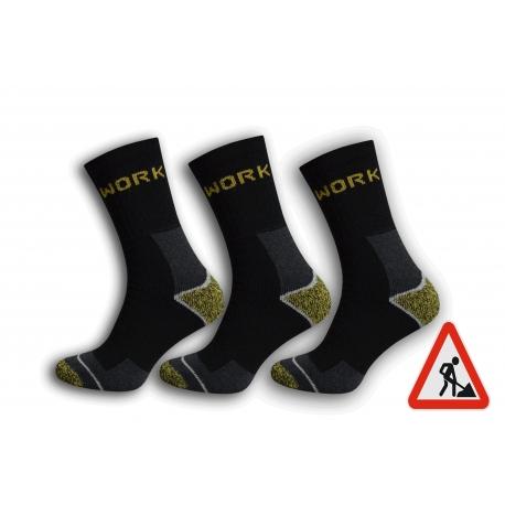 Pracovné pánske ponožky. 3-páry
