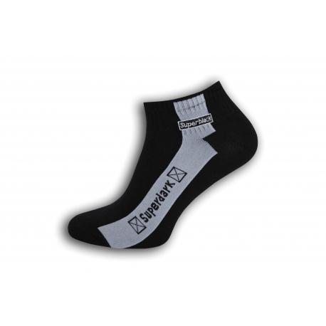 Čierne  pánske trendové ponožky