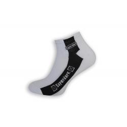 Biele pánske trendové ponožky