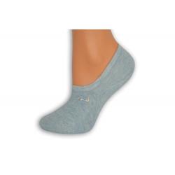 Modré nízke ponožky s atlétkou