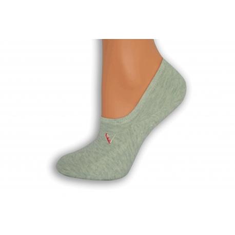 Hráškové nízke ponožky s atlétkou