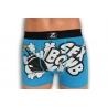 SEX BOMB. Pánske modré boxerky