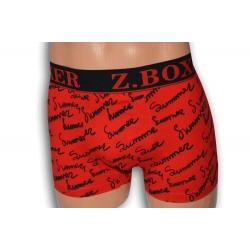 SUMMER. Červené pánske boxerky