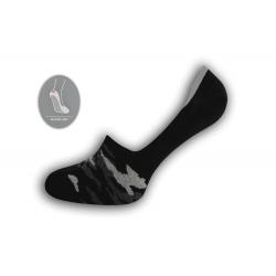 Maskáčové nízke ponožky – čierne
