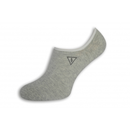 Pevne držiace pánske ponožky s bleskom - bl.sivé