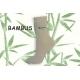 LOVE. Bambusové telové dámske ponožky