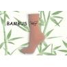 LOVE. Bambusové púdrové dámske ponožky
