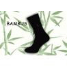 Obľúbené klasické bambusové ponožky s jemným vzorom