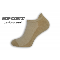 90%-né bavlnené telové pánske ponožky