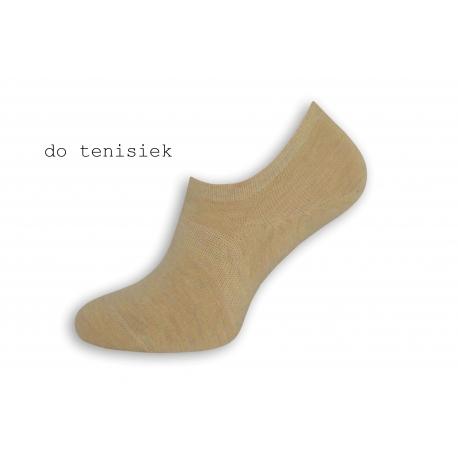 Telové pánske nízke ponožky