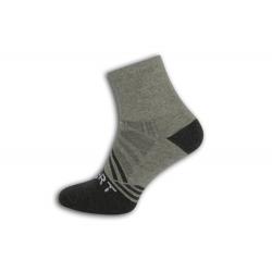 SPORT. Sivé športové pánske ponožky