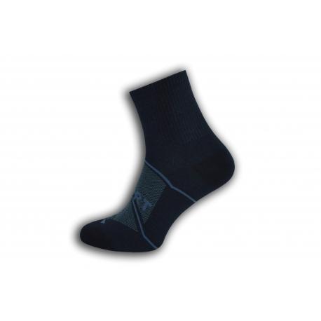 SPORT. Modré športové pánske ponožky