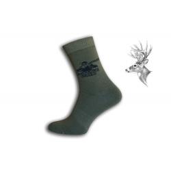 Ponožky pre poľovníka.