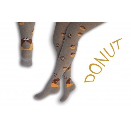 90%-né bavlnené pančušky s donutkami