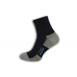 Bavlnené športové ponožky – tm.modré