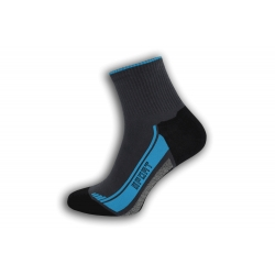 Bavlnené športové ponožky – tyrkys