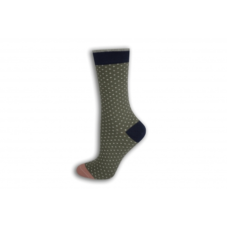 Bodkované dámske ponožky