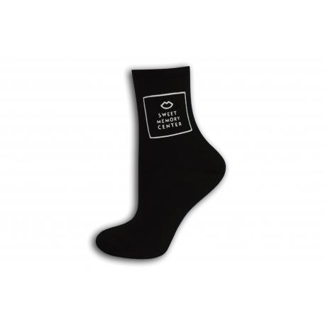 Čierne dámske ponožky
