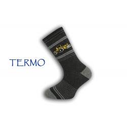 IBA 32-35! Teplé chlapčenské ponožky
