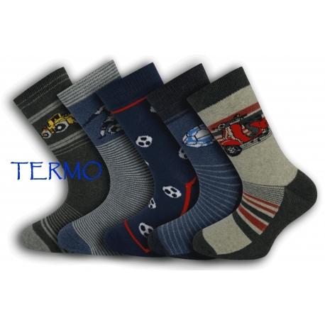 IBA 32-35! 5-párov detských termo ponožiek