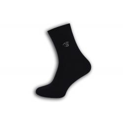 Fashion pánske modré ponožky