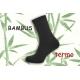Tmavo-sivé teplé bambusové ponožky