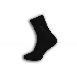 Čierne pánske teplé ponožky