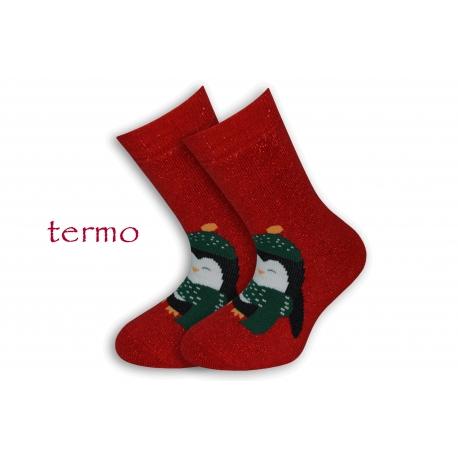 Teplé trblietavé vianočné ponožky