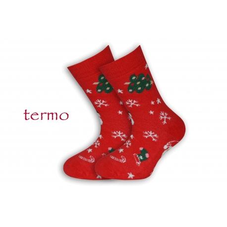 Teplé vianočné detské ponožky