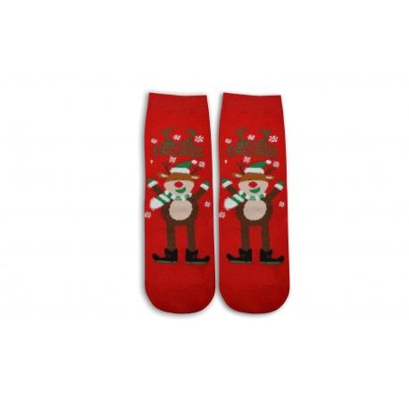Sob na vianočných ponožkách