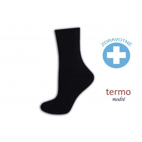 Obľúbené zdravotné ponožky  - modré
