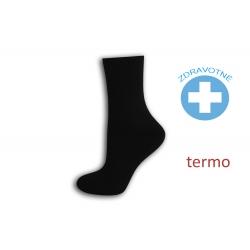 Obľúbené čierne zdravotné ponožky