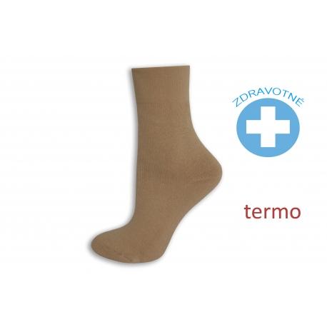 Obľúbené teplé zdravotné telové ponožky