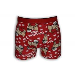 Vianočné boxerky pre milovníkov psov