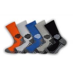 Bavlnené ponožky s trekovým výzorom