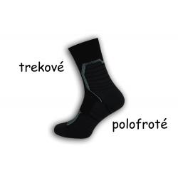 Polofroté pánske športové ponožky - modré