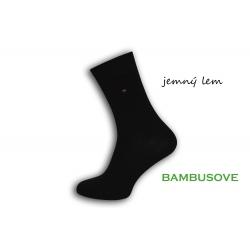 Dokonalé pánske ponožky k obleku  - čierne