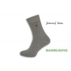 Dokonalé pánske ponožky k obleku - sivé
